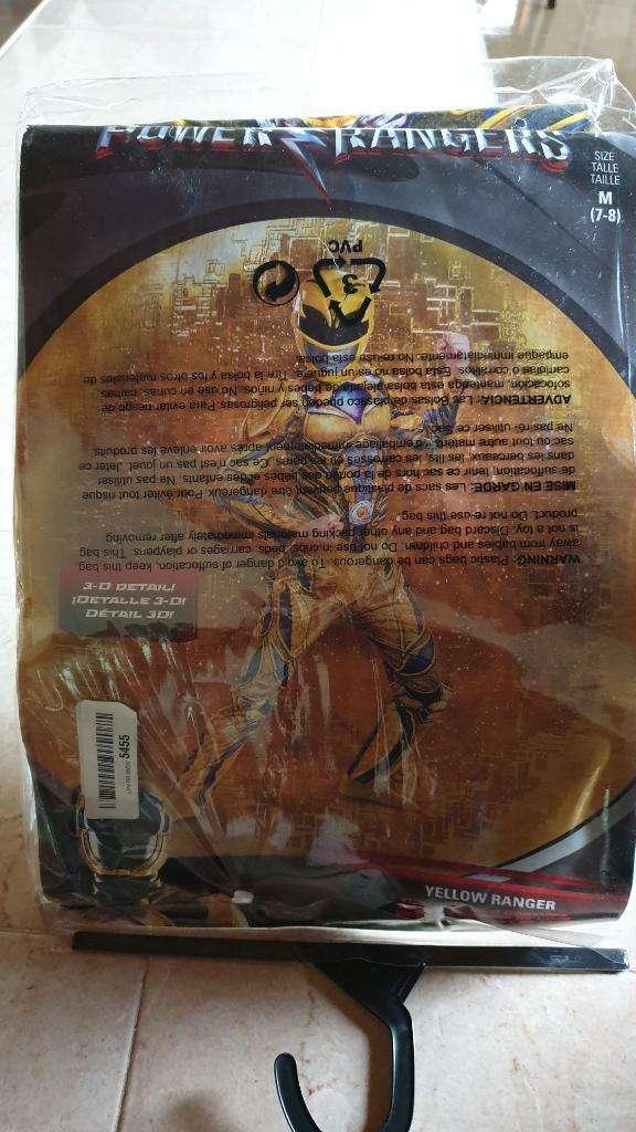 Disfraz Power Rangers 0