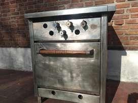 Cocina 2 Hornallas Mantenedor Horno