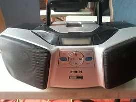 Equipo Philips Reproductor de Musica Mp3