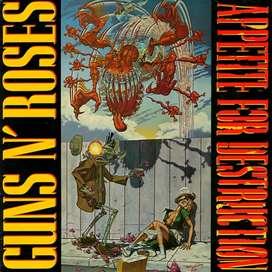 Guns n' Roses Vinilo