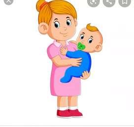 Ofrezco servicios de niñera niños niñas bebés