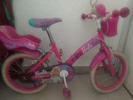 Ganga vendo bicicleta para niña en $30.000 en buen estado