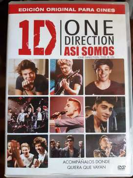 One Direction Así Somos 2013 DVD