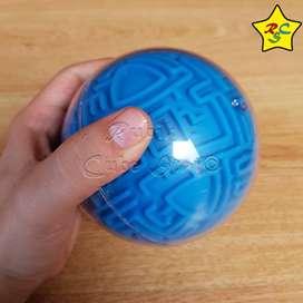 Esfera Laberinto 3d Puzzle Rompecabezas Maze Ball Azul