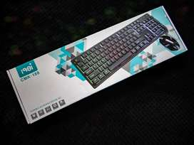 Combo teclado y mouse gamers