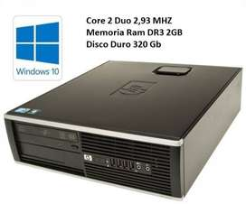 CPU HP CORE 2 DUO DR3 oferta S/. 200 soles
