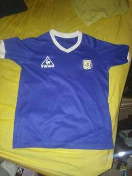 Camiseta Maradona retro Mundial 1986