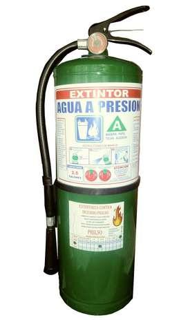 Extintor de agua 2.5 galones