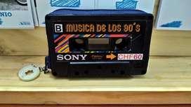 Monederos de Cassettes Vintage
