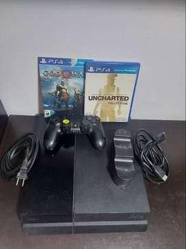 PlayStation 4 con 9 juegos