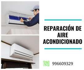 Instalación , Reparación y mantenimiento de aire acondicionado en San Miguel