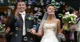 Burbujeros para salida de la iglesia en tu boda