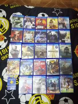 Juegos PS4 cambio