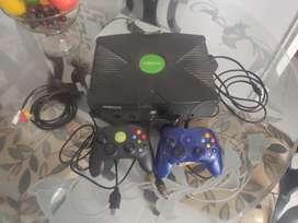 PROMOCION!!! Xbox Clasico 3 Juegos Preinstalados y 2 Controles