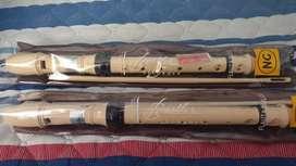 Flauta Dulce sin uso 2 unidades