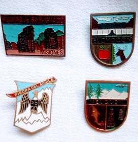 Lote de 4 Pins Vintage