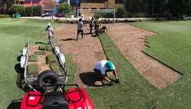 Mantenimiento de campo de futbol y paisajismo