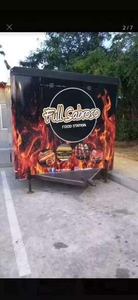 Food Truck - Tráiler de comidas rapidas