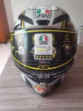 Vendo casco AGV CORSA R CAPIREX NUEVO