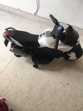 Moto de bateria automatica