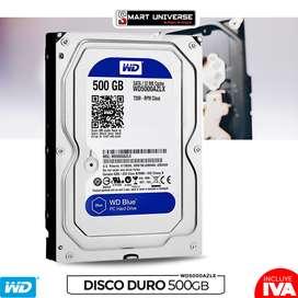 Disco Duro Interno Western Digital 500gb 3.5 Azul Sata 3