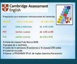Preparación para exámenes Cambridge