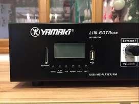 Amplificador Mezclador Yamaki LIN-60TR USB