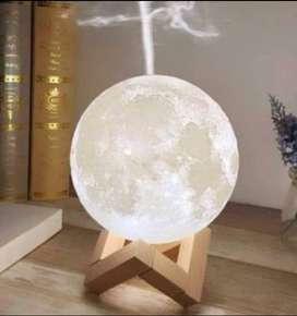 Lampara Luna con humidificador