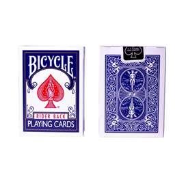 Cartas Bicycle Rider Black Blue. Original. Por Banimported