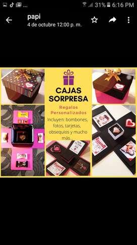 Auguri cajas Sorpresas idealespara eventos y fechas especiales
