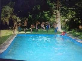 Casa quinta 2400 m2 con piscina en Santa Cruz 2500 La Reja