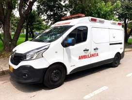 Ambulancia Renault Traffic 2016 Económica