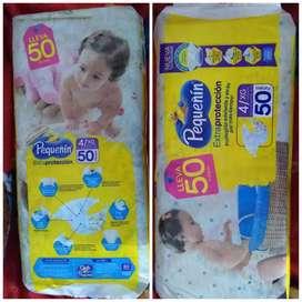 Paca de Pañales E4 x 50 unidades