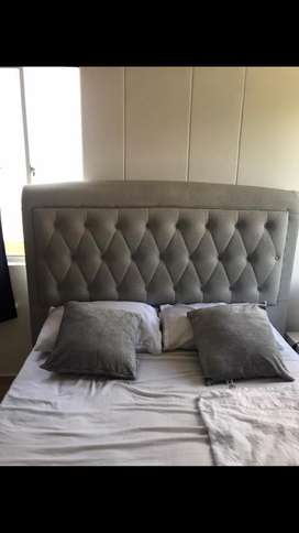Se vende cama tapizada