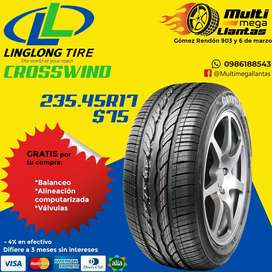 Llantas 235.45r17 Linglong cross wind