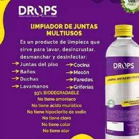 Limpiador multiusos Drops