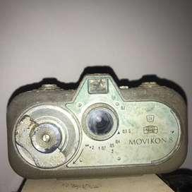 camara de fotos antigua Zeiss Ikon Movikon 8 Cámara De Cine Vintage 8MM antigua