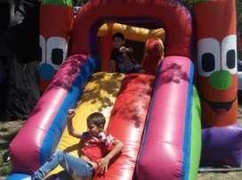 ALQUILAMOS INFLABLES y ELEMENTOS DIVERSION INFANTIL