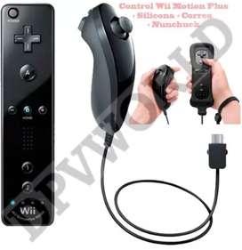 Control Nintendo Wii O Wii U Con Remoto Motion Plus Silicon
