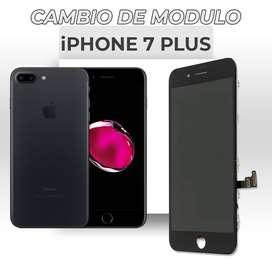 ¡Cambio de Modulo Iphone 7 Plus!