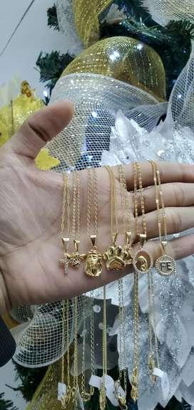 Cadenas Dijes, pulseras, brazaletes y mucho más todo lo que buscas en oro laminado 18 k