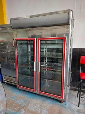 Nevera vertical refrigeracion