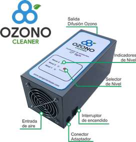 Generador de Ozono, Desinfección, Purificador de ambiente