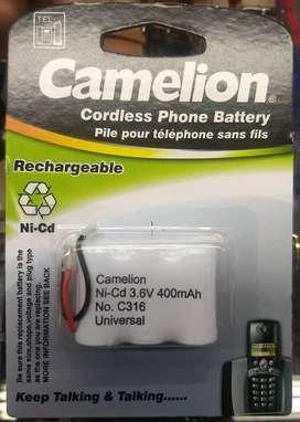 Bateria Camelion Ni Cd de 3.6v y 400 mAh Recargable