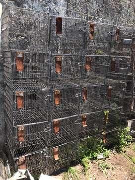 Jaulas lote para conejos, cobayos (VENDO/PERMUTO)