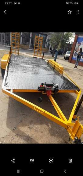 Vendo Trailer Doble Eje