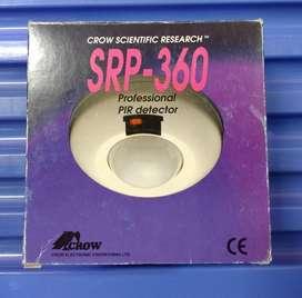 Detector de movimiento, PIR research SRP360. Angulo de 360 grados con 4 elementos de deteccion angulo vision 12.7mt