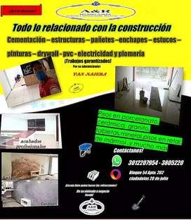 TODO LO RELACIONADO CON LA CONSTRUCCIÓN, A&R