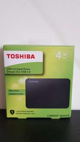 Disco Externo 4TB TOSHIBA