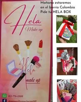 Cajas maquillaje regalo mujer